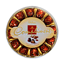Chocolates Cadbury Compliment