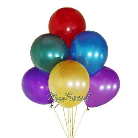 Balloons in Saratov