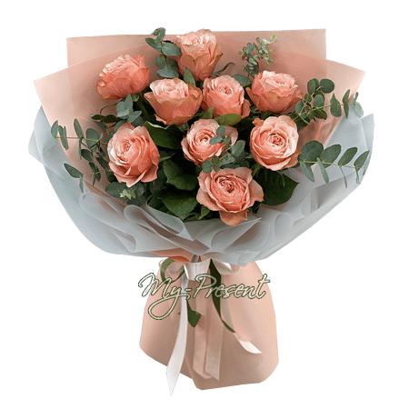 Bouquet of roses (60 cm.) in Baku