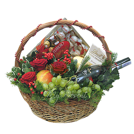 Basket by a holiday in Baku